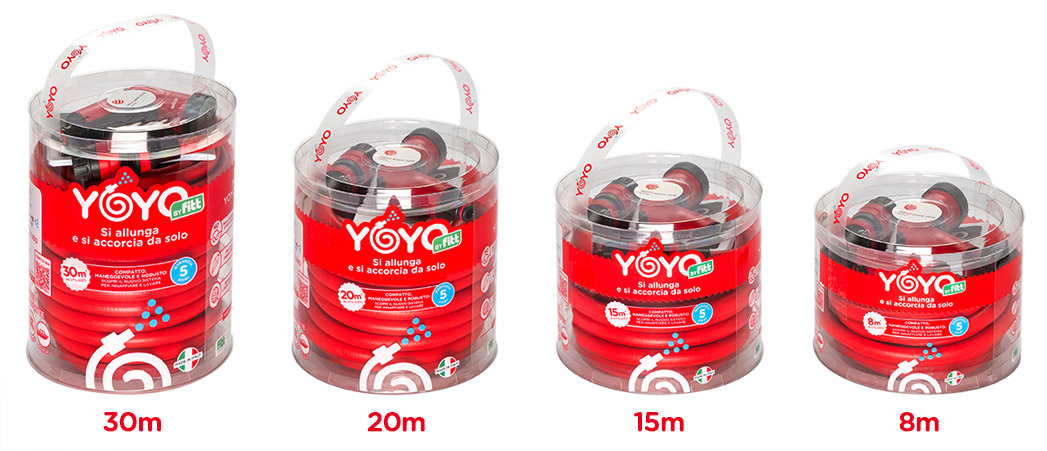 Packaging YOYO by fitt 30-20-15-8 metri